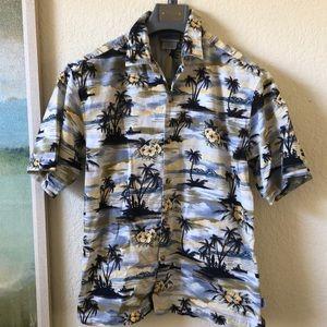 Vintage DISNEYLAND RESORT Hawaiian Shirt Men's Med